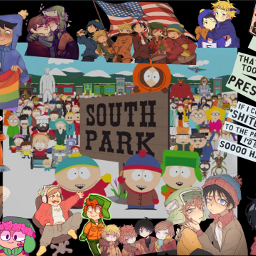 southpark tweek craig stan kyle cartman kenny butters style bunny creek kyman. freetoedit kyman
