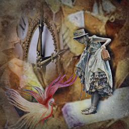 mystery mystisch inspiration dreamworld gutundböse frau kind vogel bird schlüssel schattenbild schatten silouet feelings picsart picsartedit picsarteffects pics_art picsartremix remix remixit remixed remixedit freetoedit freetoeditremix