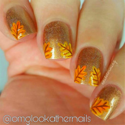 freetoedit cute gold autumnal