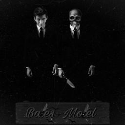 freetoedit darkside psycho normanbates darkart helloween hitchcock photoediting editbyme heypicsart