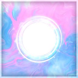 remixit remix frame circle colorful background pink blue kreis rahmen hintergrund farbig freetoedit