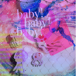 toomuchgoingon formytaste colorful jellyfish jellyfishremix jellyfishinvasion jellyfishfields baby exclamation exclamationmark freetoedit