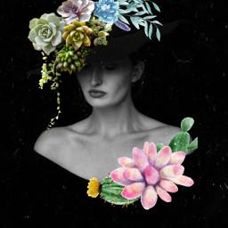 freetoedit portraitedit fansy succulent editedonpicsart editing beauty art
