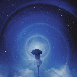 swirl umbrella vinyl stars freetoedit unsplash