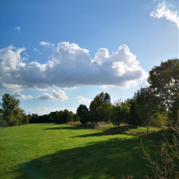 meadow clouds shadows blueskywithclouds background freetoedit