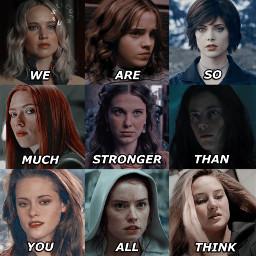 mystique hermionegranger alicecullen natasharomanoff enolaholmes teresaagnes bellaswan reyskywalker trisprior