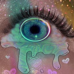 holographic eyecloseup interesting paeffects heypicsart freetoedit