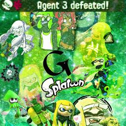 agent3 splatoon splatoon2 videogames greenaesthetic phonewallpapers freetoedit