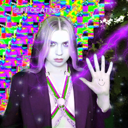 freetoedit ic3peak purple glitchcore emocore nastya