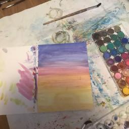 art painting watercolors