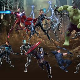 fight avengers avengersageofultron ultron ironman captainmarvel thor blackwidow hawkeye hulk hero heroes team battle brucebanner steverogers tonystark natasharomanoff clintbarton thorodinson marvel marvelcinamaticuniverse mcu