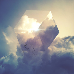 madewithpicsart cube mystery surreal