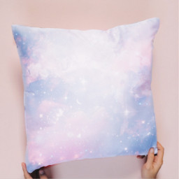 pillow moon galaxy stars background ircdesignapillow freetoedit