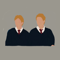 fredweasley georgeweasley weasleytwins jamesphelps oliverphelps freetoedit colorpaint draw