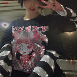 freetoedit dead yamikawaii guro menhera monstergirl cute kaeaii jfashion aesthetic alt altgirl goth gothgirl egirl emo emogirl deadinside rotten
