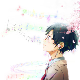 yourlieinapril cherryblossoms musicnotes piano