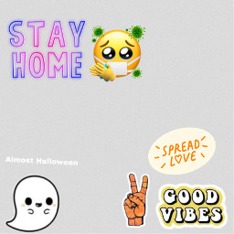 stayathome goodvibesonly almosthalloween