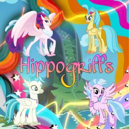 hippogriff hippogriffs skystar novo silverstream mlp mlpfim mlpmovie mylittlepony friendshipismagic waveaesthetic mountaris ecwaveaesthetic freetoedit