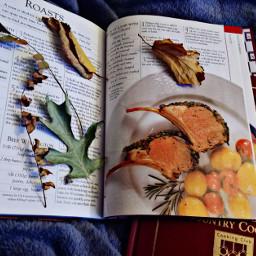pcautumnflatlay autumnflatlay thebeautyofautumn cookbooks autumnleaves