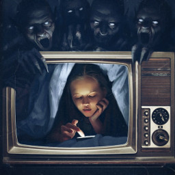 freetoedit horror fear girl srcsmallscreen