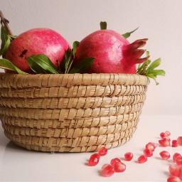myphotography stilllife flatlay pomegranates basket pcautumnflatlay