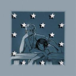 tsukkiyama edit goodmorning stars peaceout freetoedit