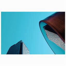 amsterdam reflection rembrandttower bluesky architecture architecturephotography