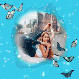 annamcnulty motion motioneffect challenge contortion contortionist blue butterfly butterflies glitter sparkles photochallenge youtube influencer jordanmatter jordanmatterphotography rcmotioneffect freetoedit
