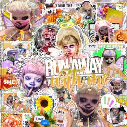 jazminbean 2020 fall orange halloween autumn person beautiful youtube makeawesome complexedit aesthetic picsart photo colours tiktok alt remixit freetoedit