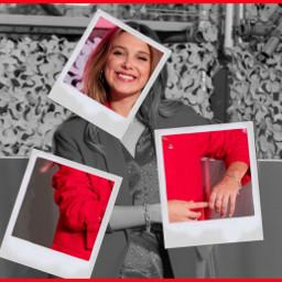 milliebobbybrown red polaroidframe polaroid pics squares blackandwhiteandred blackandwhite eleven elle enolaholmes enola strangerthings cool multicolor freetoedit