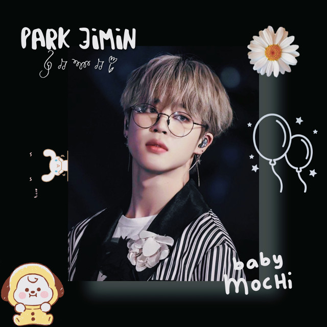 @iwantramyeon @nctinthehouse_05 @k-pop_05  HAPPY BIRTHDAY TO OUR LITTLE MOCHI🖤🤍💛#bts #jimin #army #happyjiminday💛