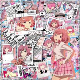 anime manga otaku japan weeb noragami kofukuebisu kofuku ebisu yato yukine hiyuri pink rosa freetoedit