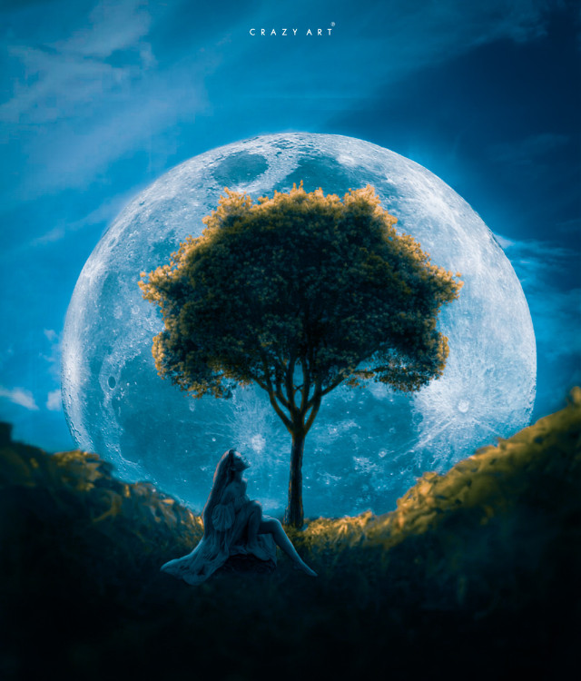 #freetoedit #picsart #madewithpicsart #girl #sitting #alone #moon #tree ,, ,, @fauspre @stone90 @romanova_art @heleen12 @azulita330187 @reversevisuals @mohuuu @sd_creations365_ @-athraa @elvina1332 @colochis89 @stickers_nation  #@fauspre
