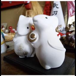 freetoedit japan mouseshrinefigures souvenirs mouseshrine shrine scroll souvenirfigures giftfigurines goodfortune