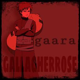 gaara naruto narutoshippuden narutogaara anime animeedit gaaraedit manga manganaruto freetoedit