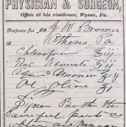 freetoedit halloween prescription surgeon physician doctordeath ilovechloroform oldtimey rx spooky creepy