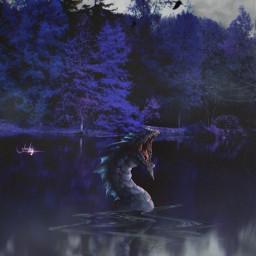 manipulation madewithpicsart mastershoutout amazing monster mystery halloweenscream colochis89 artist freetoedit colochis89