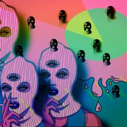 picsart greenapplegreen colorful mask maskeffect maskeffects picsarteffects purple orange digitalart freetoedit
