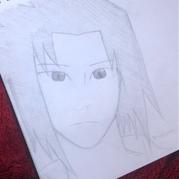anime drawing doodle art traditionalart artmadebyme animeart sketch sasukeuchiha uchihasasuke naruto