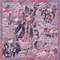 chiaki chiakinanami danganronpa2 goodbyedespair anime animegirl videogames fandom aesthetic aestheticanime bro mandude visualexcitement uh freetoedit