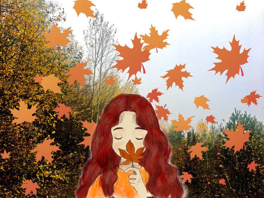 #осень #листья #art