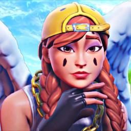 aura angel lvely cute fortnite cool idkgotbored wings fortniteskins fortniteauraskin freetoedit