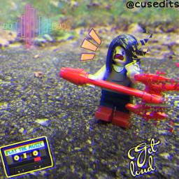 lego legolife legophotography toyphotography adventuretime music rockstar adventuretimemarceline loud
