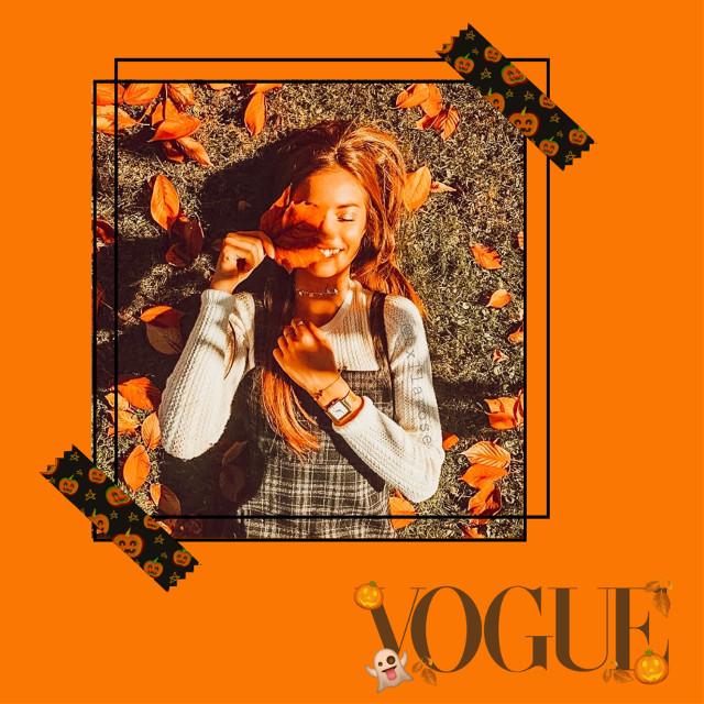 Spooky Season🎟 #halloween #replay #fall #tape #halloweenaesthetic #featurethis #orange