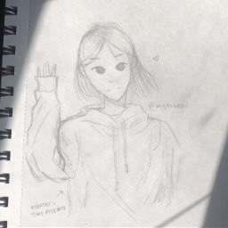 anime drawing doodle art traditionalart artmadebyme animeart sketch haikyuuhaikyu kenma kozumekenma kenmakozume