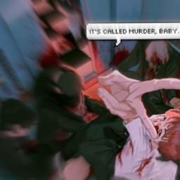 murder kill elevator boy blood insane freetoedit