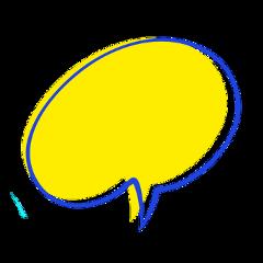 speechbubble speech chat callout freetoedit