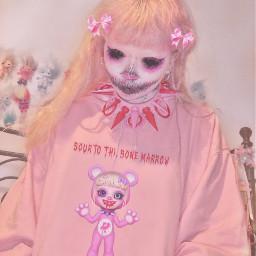 jazminbean pastel cute goth punk menhera kawaiii freetoedit