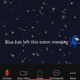 blue amongus zoom aesthetic eczoombackgroundsvibes freetoedit