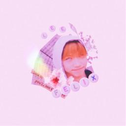 kpop aesthetic felix stray kids meme prequel hyunjin polarr